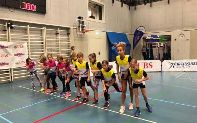 UBS kids cup Team in Bern U12: Zwei Mal Platz 6 in einem gelungenen Wettkampf