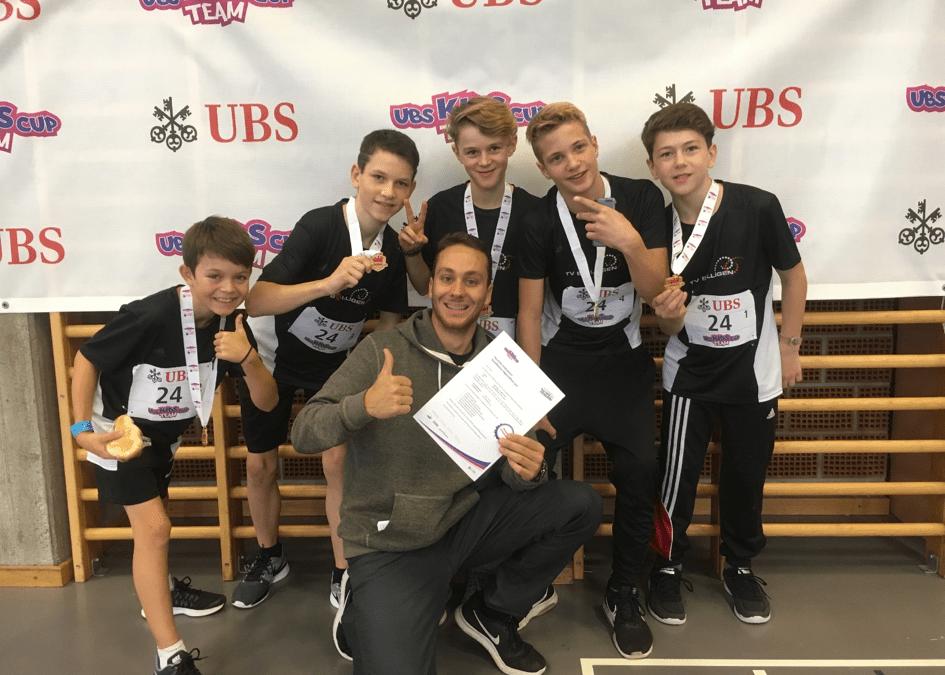 UBS Kids Cup Team Qualifikation in Herzogenbuchsee, 18. November 2017