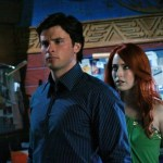 Smallville - Tom Welling as Clark Kent and Charlotte Sullivan as Maxima