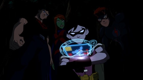 Young Justice (Cartoon Network) Drop Zone