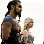 game of thrones hbo 64 Jason Momoa, Emilia Clarke