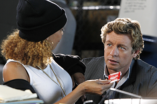 THE MENTALIST (CBS) Pink Tops