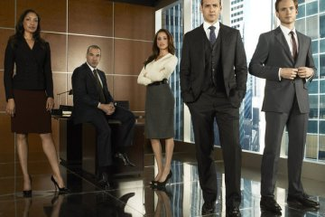 Cast from Suits