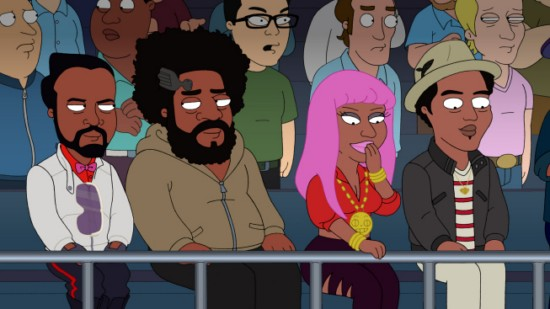 The Cleveland Show Season 4 Episode 2 Menace II Secret Society (2)