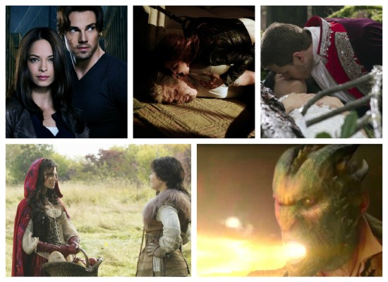 Cat Chandler, Vincent Keller, Snow White, Prince Charming, Red Riding Hood