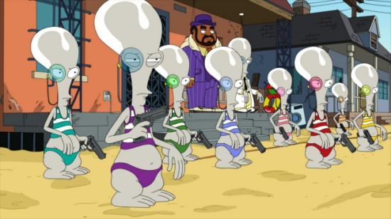 American Dad Season 8 Episode 13 For Black Eyes Only