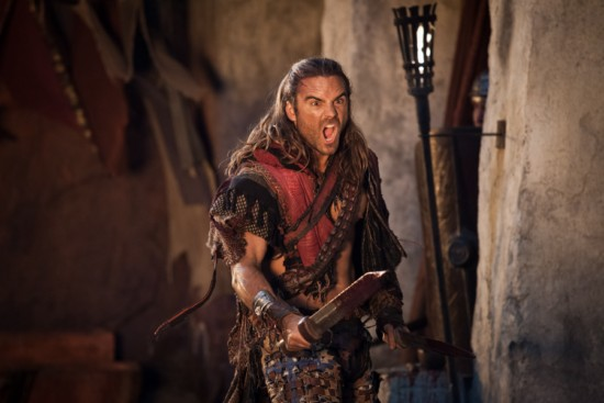 Are mistaken. spartacus war of the damned gannicus