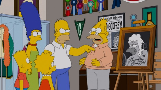 The Simpsons Season 24 Episode 14 Gorgeous Grampa (5)