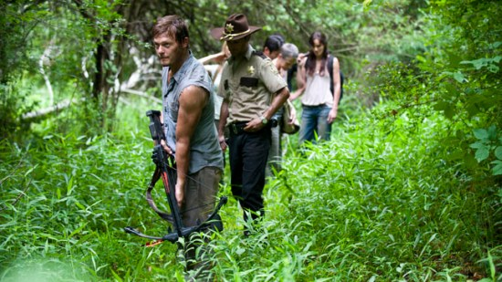 Daryl, Rick, Glenn, Carol, Lori - The Walking Dead