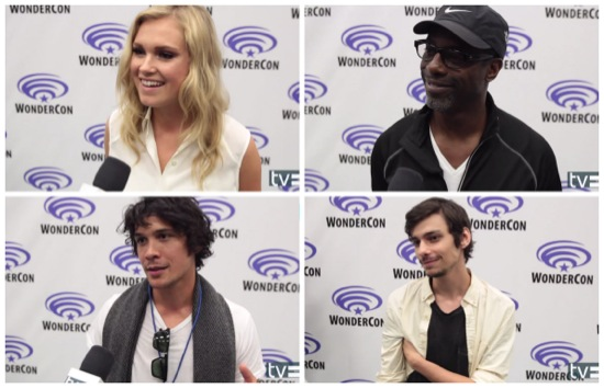 the 100 cast wondercon 2014
