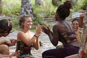 """It's Merge Time"" -- Julia Sokolowski and Cydney Gillon during the seventh episode of SURVIVOR KAOH: RONG -- Brains vs. Brawn vs. Beauty. The show airs, Wednesday, March 30 (8:00-9:00 PM, ET/PT) on the CBS Television Network. Photo: Robert Voets /CBS Entertainment ©2016 CBS Broadcasting, Inc. All Rights. Reserved."