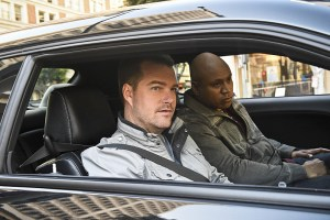 """The Seventh Child"" -- Pictured: Chris O'Donnell (Special Agent G. Callen) and LL COOL J (Special Agent Sam Hanna). Callen and the team try to save a child in imminent danger who has been brainwashed by a terrorist cell. Also, Deeks and Kensi discuss having children, on NCIS: LOS ANGELES, Monday, March 21 (9:59-11:00 PM, ET/PT), on the CBS Television Network. Photo: Ron P. Jaffe/CBS ©2016 CBS Broadcasting, Inc. All Rights Reserved."