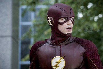 """The Flash -- """"Monster"""" -- Image FLA305a_0107b.jpg -- Pictured: Grant Gustin as The Flash -- Photo: Katie Yu/The CW -- © 2016 The CW Network, LLC. All rights reserved."""