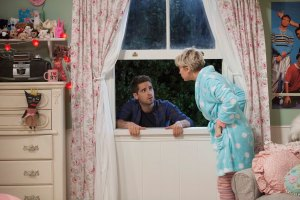 "BABY DADDY - ""Home Is where the Wheeler Is"" - Riley must figure out where she really belongs on the season premiere of ""Baby Daddy,"" airing Wednesday, June 3rd, 2015 at 8:30PM ET/PT on ABC Family. (ABC Family/Bruce Birmelin)