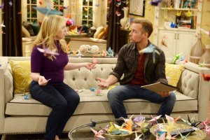 "MELISSA & JOEY - ""Call of Duty"" - Mel and Joe are so beside themselves that Ryder wants to join the Navy on the summer premiere of ""Melissa & Joey,"" airing Wednesday, June 3rd (8:00PM ET/PT) on ABC Family. (ABC Family/Eric McCandless)