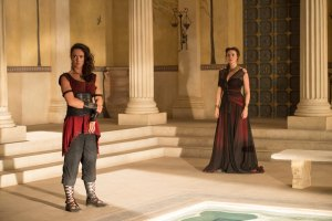 Picture Shows: Medea (AMY MANSON) and Pasiphae (SARAH PARISH)