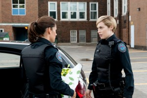 "ROOKIE BLUE - ""A Real Gentleman"" - When Traci doesn't show up as planned for a raid she's been leading involving a notorious gun dealer, the officers from 15 Division sense something is drastically wrong. It's all hands on deck as they desperately try to find her, on ABC's ""Rookie Blue,"" THURSDAY, JULY 23 (10:00-11:00 p.m., ET). (ABC/Caitlin Cronenberg)