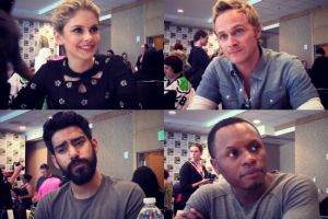 izombie cast comic-con 2015