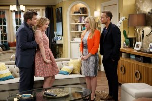 "MELISSA & JOEY - ""Double Happiness"" - Just as Mel is gearing up for a senate campaign, she gets some shocking news on the series finale of ""Melissa & Joey,"" airing Wednesday, August 5th (8:00PM ET/PT) on ABC Family. (ABC Family/Bruce Birmelin)