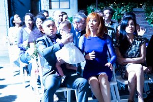 "BABY DADDY - ""It's A Nice Day for a Wheeler Wedding"" - Riley and Danny's complicated relationship finally reaches that long-awaited moment on the exciting summer finale of ""Baby Daddy,"" airing Wednesday, August 5th, 2015 at 8:30PM ET/PT on ABC Family. (ABC Family/Bruce Birmelin)