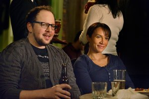 "Beauty and the Beast -- ""Destined"" -- Image Number: BB313a_0099.jpg -- Pictured (L-R): Austin Basis as JT and Nina Lisandrello as Tess -- Photo: Ben Mark Holzberg/The CW -- © 2015 The CW Network, LLC. All rights reserved."