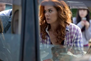 """THE MYSTERIES OF LAURA -- """"The Mystery of the Watery Grave"""" Episode 205 -- Pictured: Debra Messing as Laura Diamond -- (Photo by: Paul Sarkis/NBC)"""