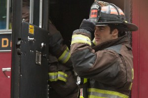 "CHICAGO FIRE -- ""Taste of Panama City"" Episode 402 -- Pictured: Steve McQueen as Jimmy -- (Photo by: Elizabeth Morris/NBC)"
