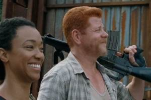 Abraham and Sasha - The Walking Dead