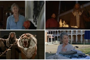 King Ezekiel, Carol, Jerry, Shiva - The Walking Dead