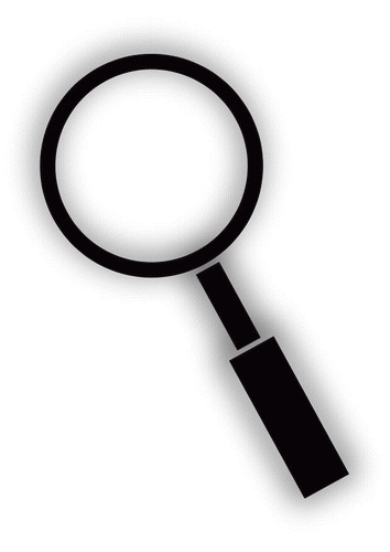 magnifying glass - Elementary