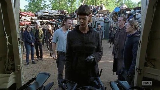 Jadis and Rick - The Walking Dead