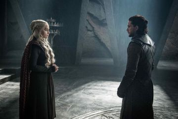 Dani and Jon Game of Thrones