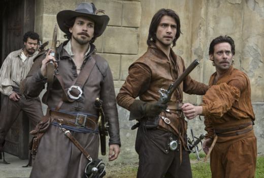 Axed the musketeers to end with third season tv tonight Better homes and gardens tonight s episode