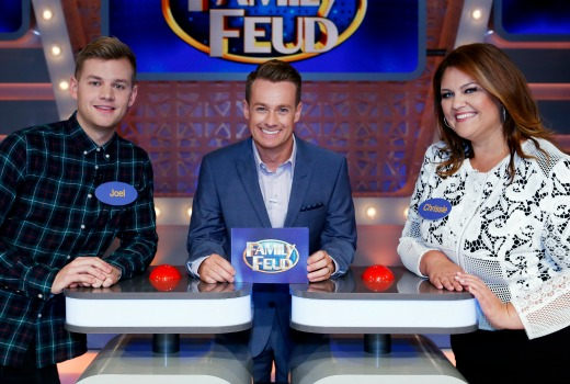 Family feud celebrity no stranger to handcuffs