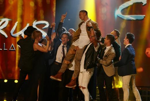 X Factor winner Cyrus