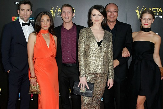 arrives ahead of the 5th AACTA Awards Presented by Presto at The Star on December 9, 2015 in Sydney, Australia.