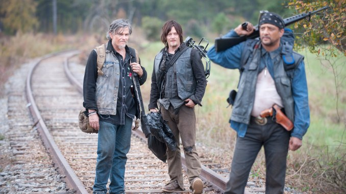 Jeff Kober, Daryl Dixon (Norman Reedus) and Davi Jay - The Walking Dead _ Season 4, Episode 15 - Photo Credit: Gene Page/AMC