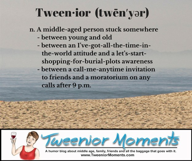 tweenior--a middle-aged person stuck between young and old