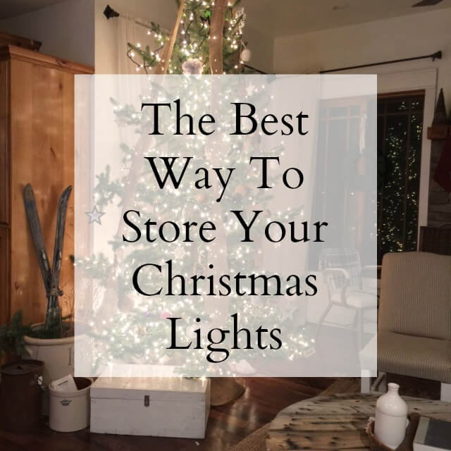 The Best Way To Store Your Christmas Lights
