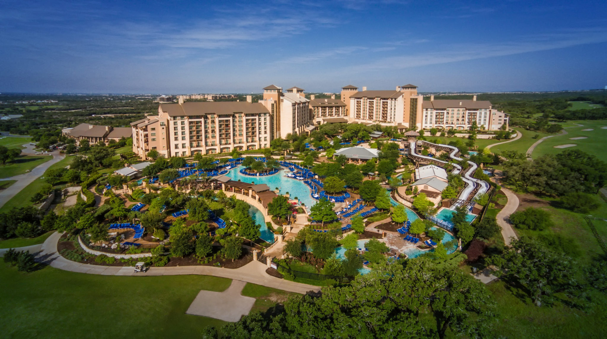 Jw marriott hill country resort spa extends water park for Texas spas and resorts