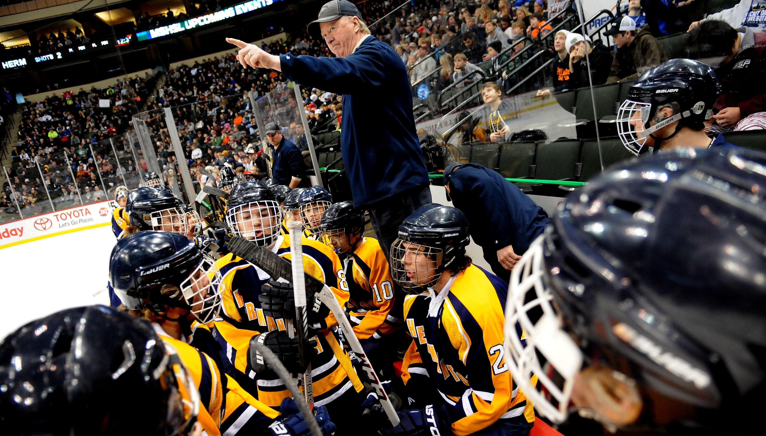 MN H.S.: Bruce Plante's Hermantown Boys Hockey Thinks 7th Time's The Charm