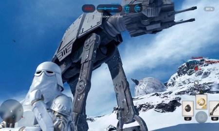 Star Wars battlefront atat screenshot