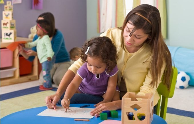 Is fee for using child daycare expensive? Or cheap?