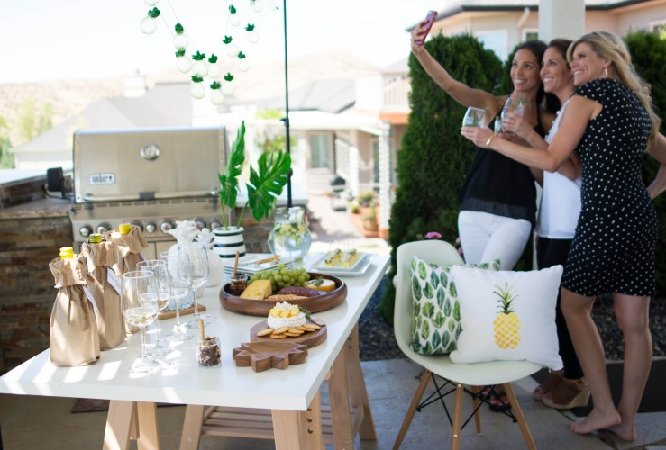 Host a Summer Girls Night In: Wine & Cheese Party