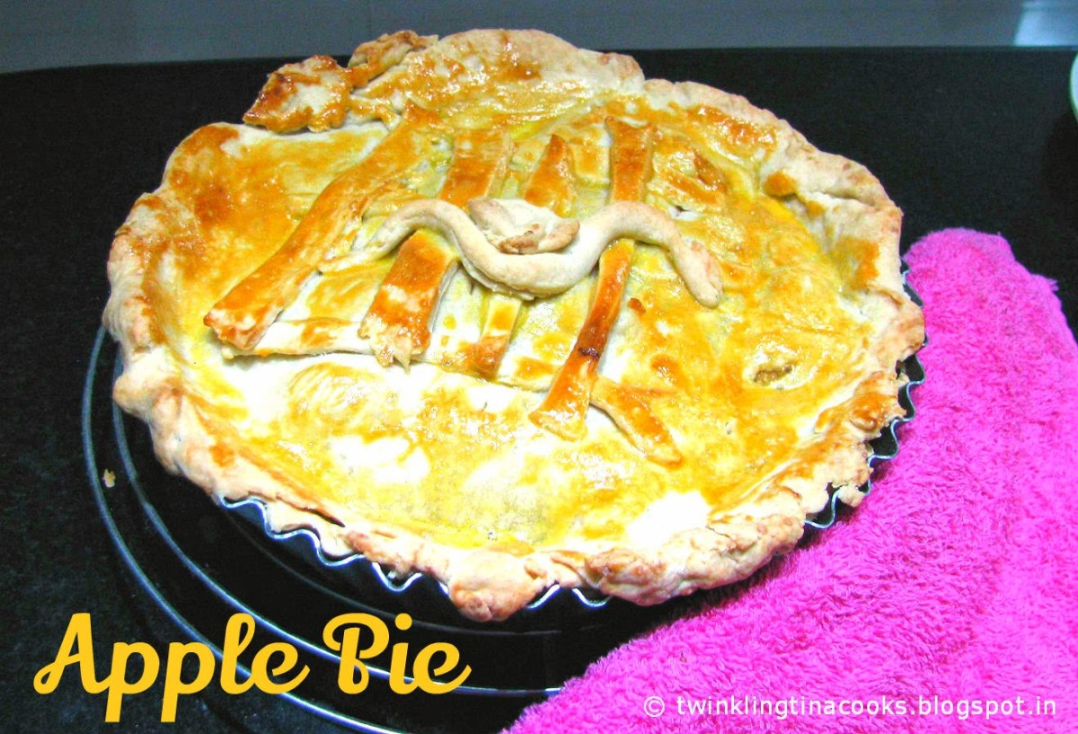 A to Z Challenge Day #1 - Apple Pie