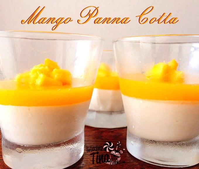 mango panna cotta, panna cotta recipe, italian dessert, dessert recipe, panna cotta, tropical panna cotta