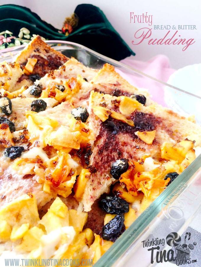 bread-and-butter-pudding-recipe-easy-fruity-bread-and-butter-pudding-baked-with-apples-and-fruit-preserve-english-recipe