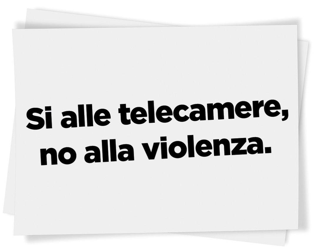 si_telecamere_no_violenza