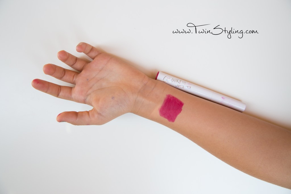 Lippie Stix - Colourpop Cosmetics i love this swatch