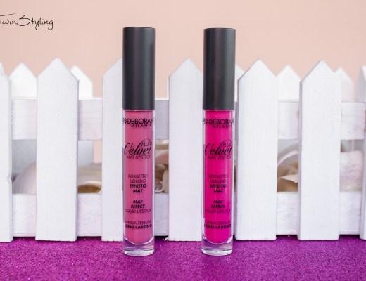 Review: Fluid Velvet Mat Lipstick - Deborah Milano.